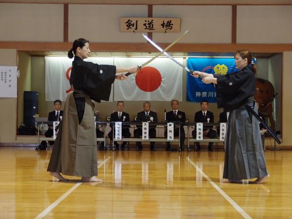 日本剣道形演武 県女子剣道大会
