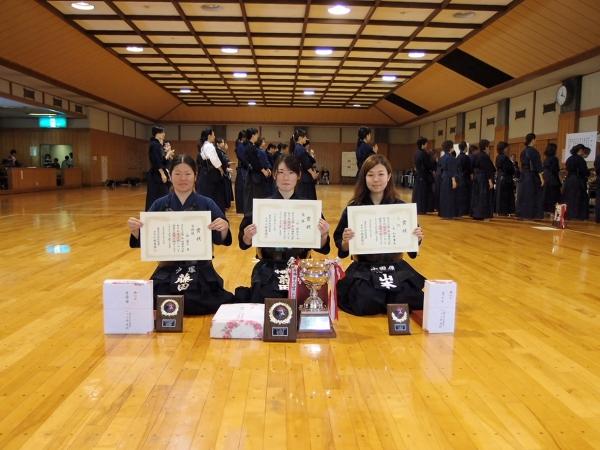 1部 県女子剣道大会