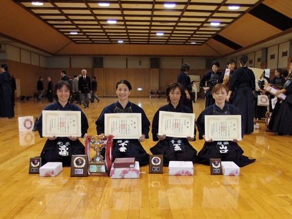 3部 県女子剣道大会