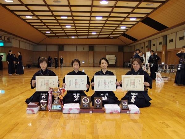 4部 県女子剣道大会
